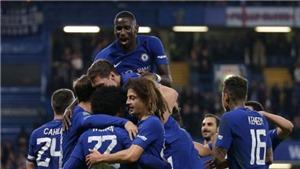 Video clip highlights bàn thắng trận Chelsea 2-1 Everton