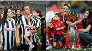 Cuộc sống gia đình hạnh phúc của các danh thủ hàng đầu thế giới