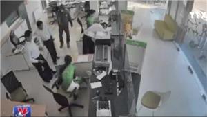 Lộ diện nghi phạm cướp ngân hàng Vietcombank tại Trà Vinh