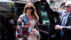 Những bộ cánh thời thượng của bà Melania Trump khiến công chúng xuýt xoa