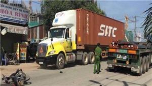'Hung thần' container lại gây tai nạn kinh hoàng