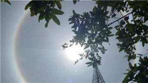 Xuất hiện quầng Mặt Trời lạ ở Huế