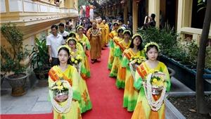 Đại Lễ Phật đản: Thả bóng, cầu hòa bình quốc thái dân an