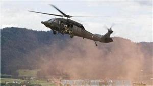 Vướng dây điện, trực thăng quân sự rơi, 13 người thiệt mạng