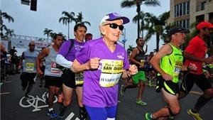 Cụ bà lập kỷ lục chạy marathon ở tuổi 94
