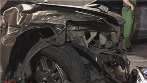 Hiện trường ô tô đi ngược chiều trong hầm vượt sông Sài Gòn gây tai nạn liên hoàn