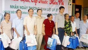 Nghệ An: Khám chữa bệnh và cấp thuốc miên phí nhân ngày 27/7