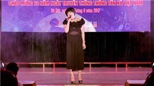 Ca sĩ Ngọc Khuê làm giám khảo 'Hội diễn văn nghệ TTXVN'