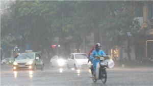 Nam Trung bộ và Nam Bộ mưa dông, Bắc Bộ, Bắc Trung Bộ oi nóng