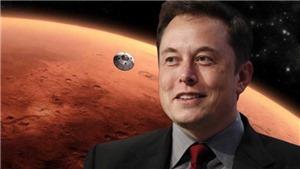 Ông chủ hãng hàng không vũ trụ SpaceX Elon Musk sẽ đưa con người đến ở sao Hỏa