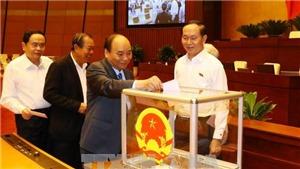 Chính thức bổ nhiệm Bộ trưởng GTVT Nguyễn Văn Thể và Tổng Thanh tra Chính phủ Lê Minh Khái
