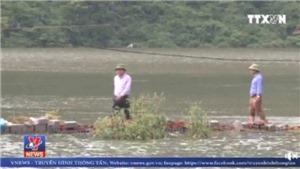 VIDEO: Nguy cơ vỡ đê hồ chứa nước lớn nhất Hà Nội