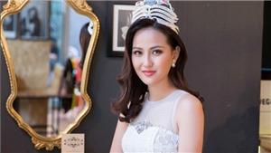 Hoa hậu Hoàn cầu Khánh Ngân rạng rỡ trên truyền hình Albania