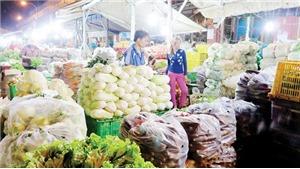 Chợ kinh doanh thực phẩm phải cách nguồn gây ô nhiễm ít nhất 500m