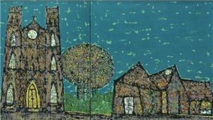 Triển lãm của 4 họa sĩ ĐH Mỹ thuật Công nghiệp