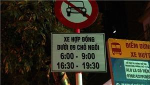 13 tuyến phố Hà Nội cấm Uber, Grab theo giờ