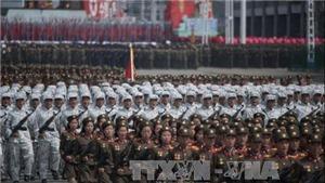 Hàn Quốc: Triều Tiên 'dường như' đã tổ chức diễu binh 1 ngày trước Olympic PyeongChang