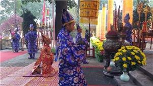 Dâng hương, tế lễ điện Kính Thiên khai Xuân Mậu Tuất tại Hoàng thành Thăng Long