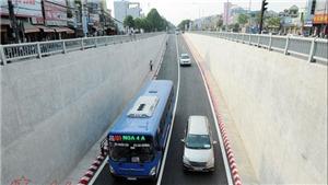 Thông xe hầm chui ở nút giao 3 tầng cửa ngõ Tây Bắc TP Hồ Chí Minh