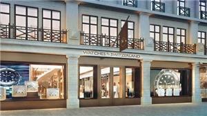 Vụ cướp cửa hàng đồng hồ cao cấp táo tợn tại trung tâm London