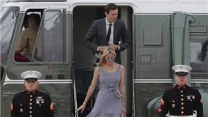 Trực thăng chở vợ chồng con gái Tổng thống Trump hạ cánh khẩn cấp