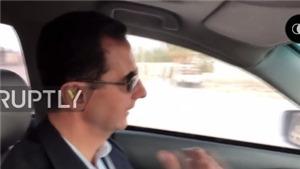 VIDEO: Tổng thống Syria tự mình lái xe vào 'chảo lửa'