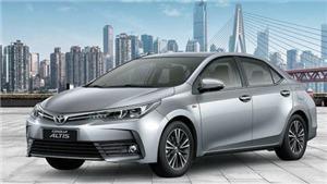 Toyota Việt Nam triệu hồi xe Corolla Altis do lỗi giảm xóc sau