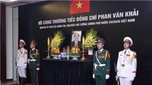 VIDEO: Tổ chức trọng thể Lễ truy điệu nguyên Thủ tướng Phan Văn Khải