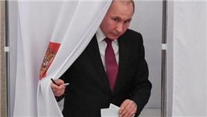 Tổng thống Nga Vladimir Putin phản ứng lại câu hỏi về ý định tranh cử năm 2030