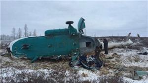 Rơi trực thăng Mi-8 ở Viễn Đông nước Nga, không có người sống sót