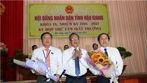 Ông Lê Tiến Châu được bầu giữ chức danh Chủ tịch UBND tỉnh Hậu Giang