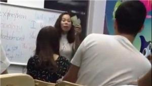 Trung tâm tiếng Anh của 'cô giáo mắng học sinh óc lợn' đào tạo ngoại ngữ 'chui'
