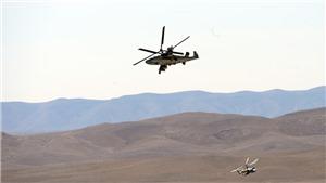 VIDEO: Trực thăng chiến đấu 'Cá sấu' K-52 của Nga rơi tại Syria