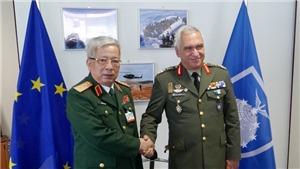 Thượng tướng Nguyễn Chí Vịnh tham dự Hội nghị Tư lệnh Quốc phòng EU