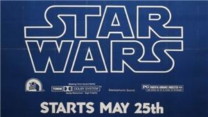 Áp phích hiếm về 'Star Wars', 'Jaws'… lên sàn đấu giá
