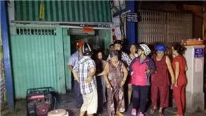 TP.HCM: Sập trần 'nhà cổ' đường Yersin, nhiều người mắc kẹt