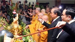 Phó Thủ tướng Trương Hòa Bình dự Lễ Phật đản: Mong Phật giáo tiếp tục hạnh nguyện nhập thế, ích đạo lợi đời