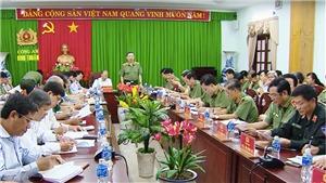 Bộ trưởng Bộ Công an Tô Lâm làm việc tại tỉnh Bình Thuận