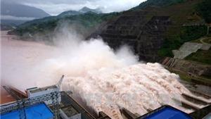 Hồ thủy điện Lai Châu vận hành xả lũ vào chiều nay