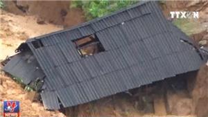 VIDEO: Sạt lở vùi lấp 28 ngôi nhà tại bản Sáng Tùng, Lai Châu