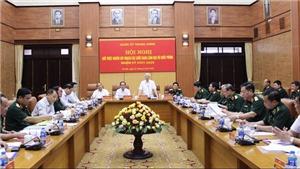 Tổng Bí thư Nguyễn Phú Trọng chủ trì Hội nghị quy hoạch lãnh đạo Bộ Quốc phòng