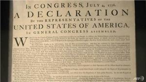 Học giả ĐH Harvard tìm thấy bản sao Tuyên ngôn Độc lập Mỹ tại Anh