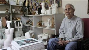 Nhà điêu khắc Lê Công Thành: 'Mơ ước tác phẩm được phóng to, đặt trong không gian rộng lớn'