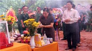 Kỷ niệm 71 năm Ngày Thương binh - Liệt sỹ: Truy điệu, an táng 21 hài cốt liệt sỹ tại Sa Thầy, Kon Tum