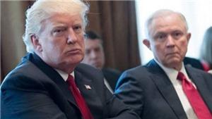 Nấc thang đối đầu căng thẳng giữa Tổng thống Trump với Bộ Tư pháp Mỹ