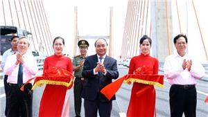 Thủ tướng Chính phủ Nguyễn Xuân Phúc phát lệnh thông xe tuyến cao tốc Hạ Long - Hải Phòng