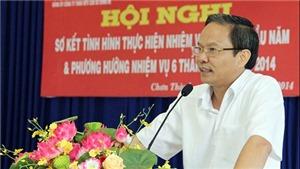 Điều động Phó Bí thư Bình Phước Lê Văn Châu giữ chức Phó Bí thư Đảng ủy Khối DNTƯ