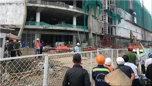 VIDEO: Sập giàn giáo, ba công nhân bị thương nặng