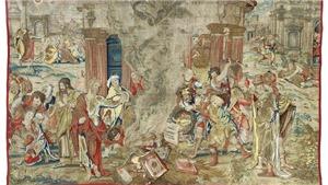 Tấm thảm huyền thoại của Vua Henry VIII bất ngờ xuất hiện: Kiệt tác 'tái xuất' sau gần 3 thế kỷ