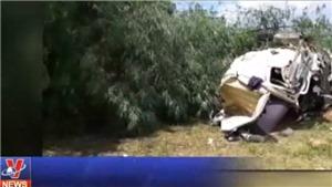 VIDEO: 12 người thiệt mạng do tai nạn xe bồn đâm xe khách tại Lai Châu